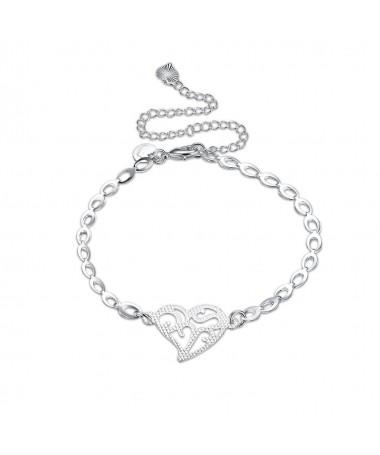 Bracelet Coeur Opal