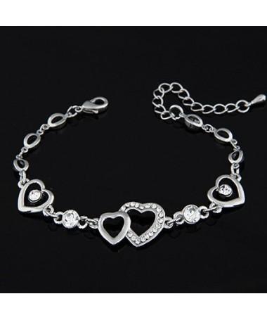 Bracelet Coeur Shirley