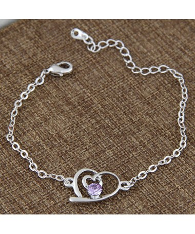 Bracelet Coeur Suzanne