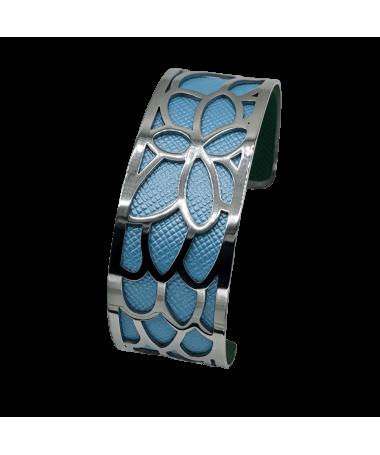 Bracelet Manchette Orchidée