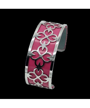 Bracelet Manchette Violette